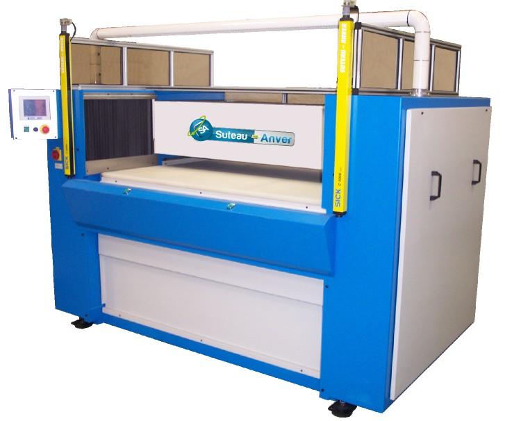 Prensa de corte con puente y mesa móviles hidráulico – Modelo PTMV