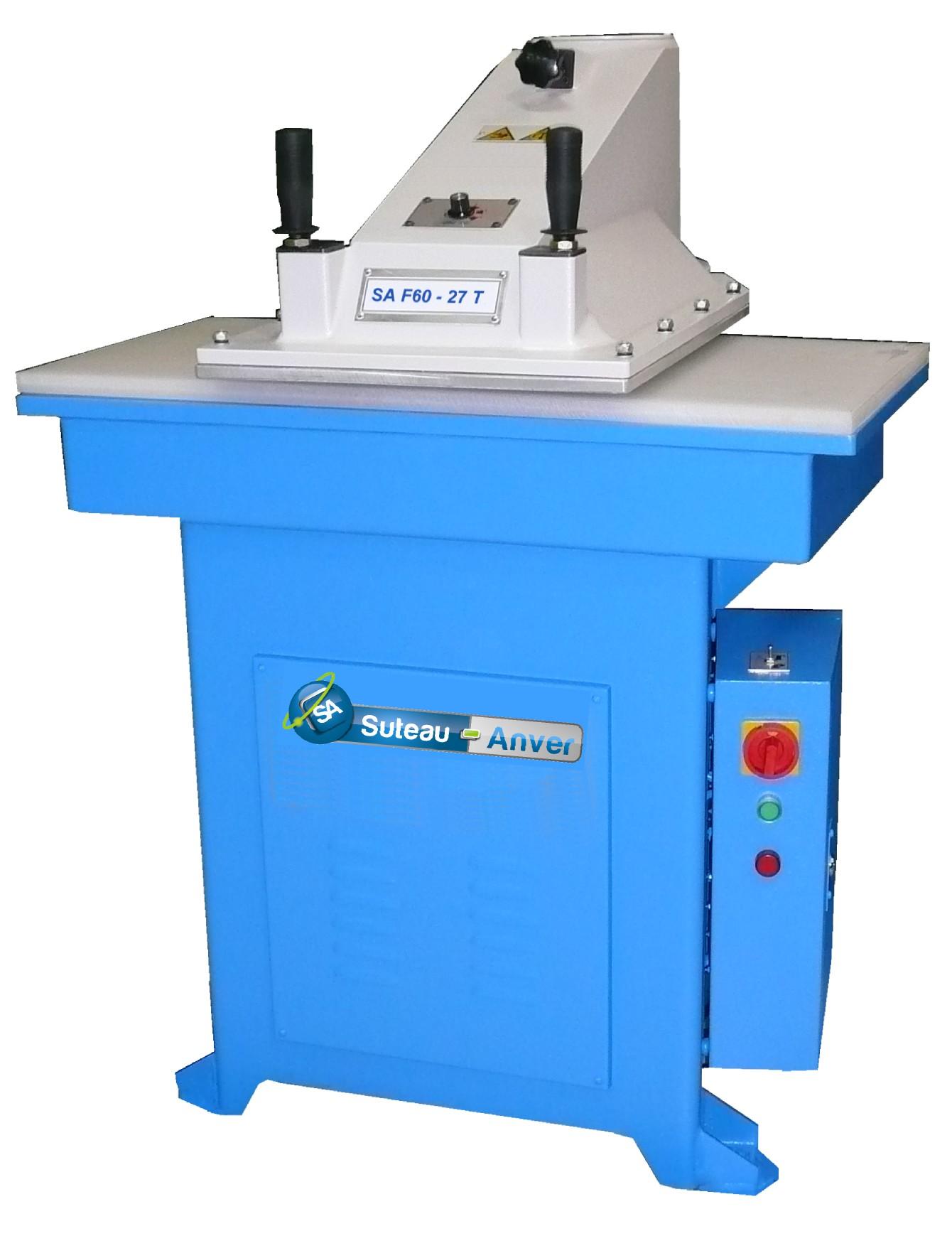 Prensa de corte de brazo giratorio hidráulico – Modelo SA F60
